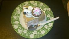 宇宿直彰 公式ブログ/デザートのケーキ 画像1