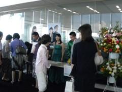 宇宿直彰 プライベート画像 オフィス設計ホール:2011年7月10日