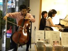 宇宿直彰 公式ブログ/ミニコンサート無事終了 画像1