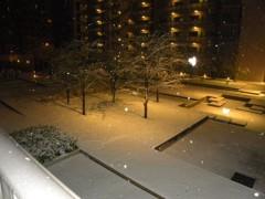 宇宿直彰 公式ブログ/雪! 画像1