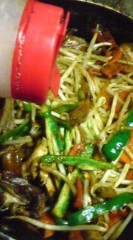 菊池隆志 公式ブログ/『肉野菜炒め♪(  ̄▽ ̄)』 画像1