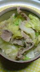 菊池隆志 公式ブログ/『白菜豚鍋♪o(^-^)o 』 画像1