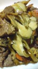 菊池隆志 公式ブログ/『牛肉とマイタケのバター醤油炒め♪』 画像1