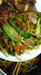 菊池隆志 公式ブログ/『肉野菜炒め♪(  ̄▽ ̄)』 画像3
