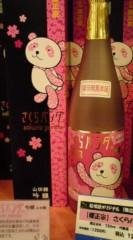 菊池隆志 公式ブログ/『さくらパンダ酒♪o(^-^)o 』 画像1