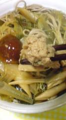 菊池隆志 公式ブログ/『大盛りキノコ蕎麦♪(  ̄▽ ̄)』 画像2