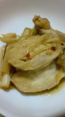 菊池隆志 公式ブログ/『鶏肉とネギの甘辛煮!?o(^-^)o 』 画像1