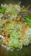 菊池隆志 公式ブログ/『ここまでは野菜サラダ(^-^) 』 画像1