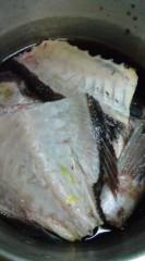 菊池隆志 公式ブログ/『鯛のアラ煮♪(  ̄▽ ̄)』 画像1