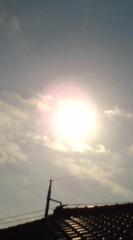 菊池隆志 公式ブログ/『穏やかな太陽♪(  ̄▽ ̄)』 画像1