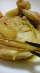 菊池隆志 公式ブログ/『鶏肉とネギの甘辛煮!?o(^-^)o 』 画像2
