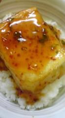 菊池隆志 公式ブログ/『揚げだし豆腐丼o(^-^)o 』 画像1