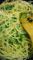 菊池隆志 公式ブログ/『シラスとみず菜のペペロンチーノ♪』 画像1