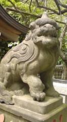 菊池隆志 公式ブログ/『先ずは狛犬さん♪o(^-^)o 』 画像3