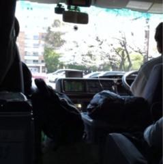 片岡優香 公式ブログ/ロケバスからの桜は 画像1