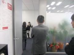 片岡優香 公式ブログ/博報堂の壁に落書き 画像3