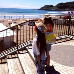 片岡優香 公式ブログ/由比ヶ浜撮影2012夏 画像2