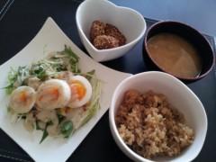 朝生あや 公式ブログ/手料理☆ 画像1