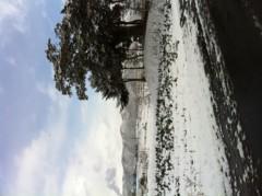朝生あや 公式ブログ/初雪です! 画像2