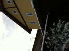 朝生あや 公式ブログ/初雪です! 画像1