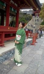 秋吉久美子 公式ブログ/ショートヘアで着物に挑戦 画像1