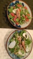 秋吉久美子 公式ブログ/魚でサラダ 画像1