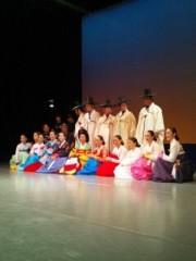 秋吉久美子 公式ブログ/韓国伝統舞踊 画像1