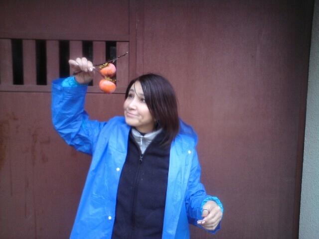 柿と秋吉久美子