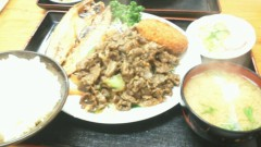 伊藤竜翼 公式ブログ/町の定食屋さん 画像1