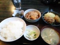 山口温志 公式ブログ/遅い昼食 画像1