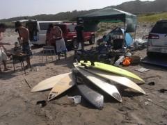 金原杏奈 公式ブログ/BBQ&surfing 画像1