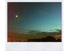 青木ケイト 公式ブログ/お月様とペペロンチーノ。 画像2