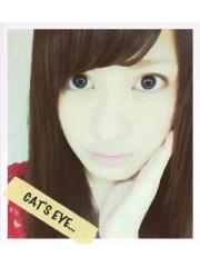 青木ケイト 公式ブログ/猫目というやつです。 画像1