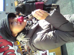 白樺真澄 公式ブログ/初詣に行きました 画像1