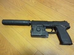 岡本良史 公式ブログ/ソリッド・スネーク愛用の銃ゲット♪ 画像1