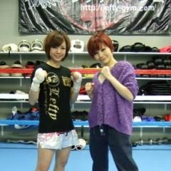果山サキ 公式ブログ/タイトルマッチで生歌唱!! 画像1