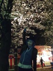 果山サキ 公式ブログ/サクラ咲く 画像1