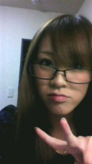 加來沙耶香 公式ブログ/眼鏡 画像1