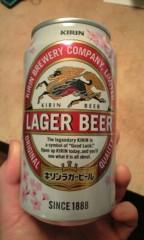 川崎りえ プライベート画像/ビール達 サクラの季節のイベントで