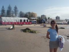 川崎りえ プライベート画像/こんな私ですけどよろしく♪ サーフィン大会クイックシルバープロを見に行きました