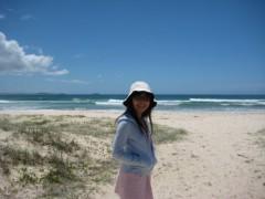 川崎りえ プライベート画像/こんな私ですけどよろしく♪ チャンピオンを生み出したキングスクリフのビーチ