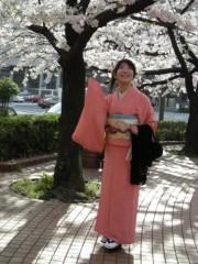 川崎りえ プライベート画像/こんな私ですけどよろしく♪ 桜の季節の結婚式のあと