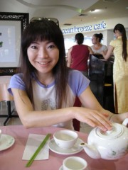 川崎りえ プライベート画像/こんな私ですけどよろしく♪ Gold Coastのお気に入り飲茶店Top One