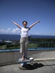 川崎りえ プライベート画像/本州最南端!!串本町 空と海とお日様に感謝〜♪