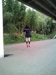 あぴちゅん プライベート画像 ジャンプ(笑)