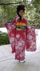 長島実咲 公式ブログ/15才の振り袖 画像1