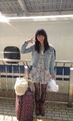 長島実咲 公式ブログ/新幹線にて更新 画像1