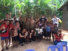 猫ひろし 公式ブログ/カンボジアシューズ支援のご報告 画像2