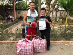 猫ひろし 公式ブログ/カンボジアシューズ支援のご報告 画像1