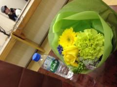 仲俣雅章 公式ブログ/幸せの黄色い花束!〜アルジャーノンの現場より〜 画像1